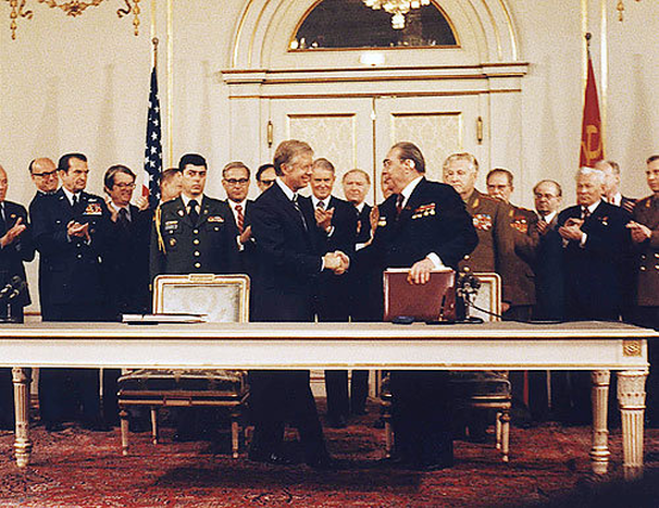 a history of the salt i and salt ii in nuclear weapon treaties